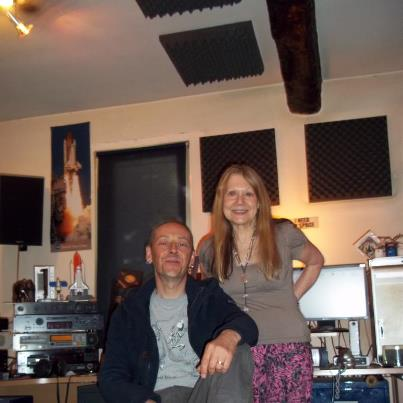 "Valeryan with Tim Turan - mastering just finished for ""Rolling Road"" June 2012"