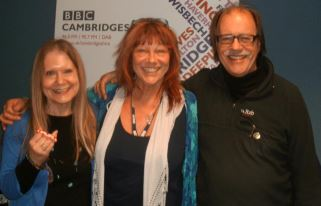 Valeryan and Pete with Sue Marchant BBC Radio Cambridge October 2011